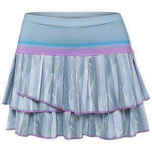 Lucky In Love tennis skort Pleat Tier Skirt xl